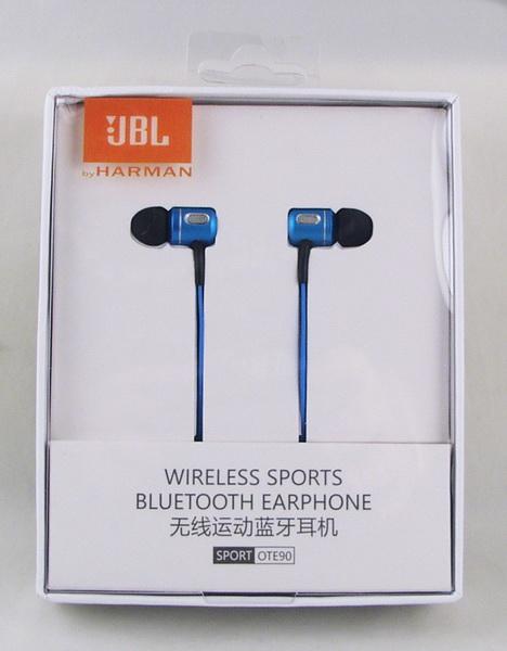 Наушники JBL OTE-90 вакуум. Bluetooth