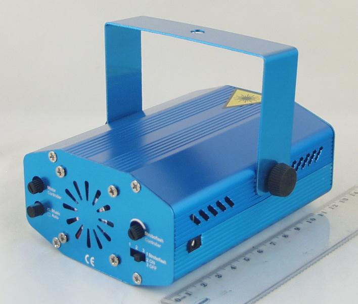 Лазерная установка (зелен.+ крас.) YX-65 (6 режим.)