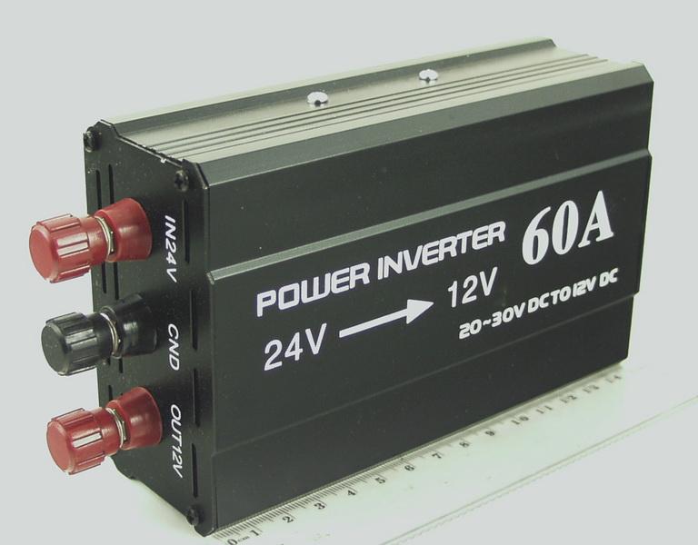 Преобразователь напряжения 24V-12V 60A