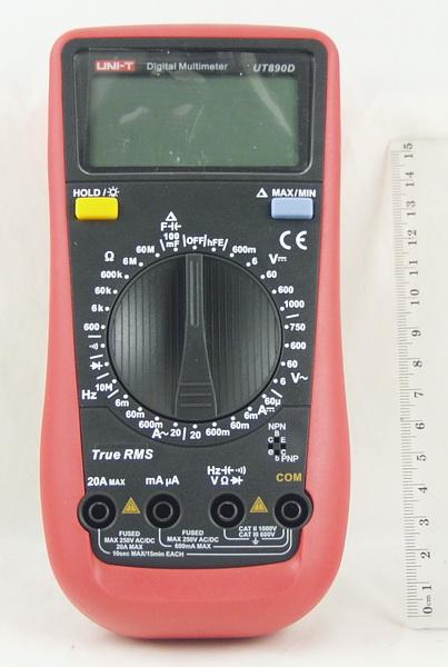 Цифровой Мультиметр UNI-T UT-890 D