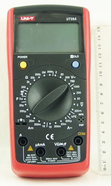 Цифровой Мультиметр UNI-T UT-39A