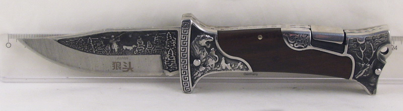 Нож 3188(A3188) расклад. в чехле больш. СOLUMBIA