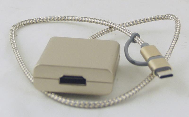 Переходник  HDMI-IP5/SAMSUNG/TYPE-C 3в1