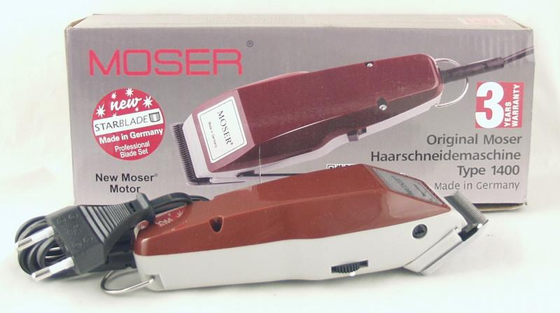Машинка для стрижки волос №1400 MOSER