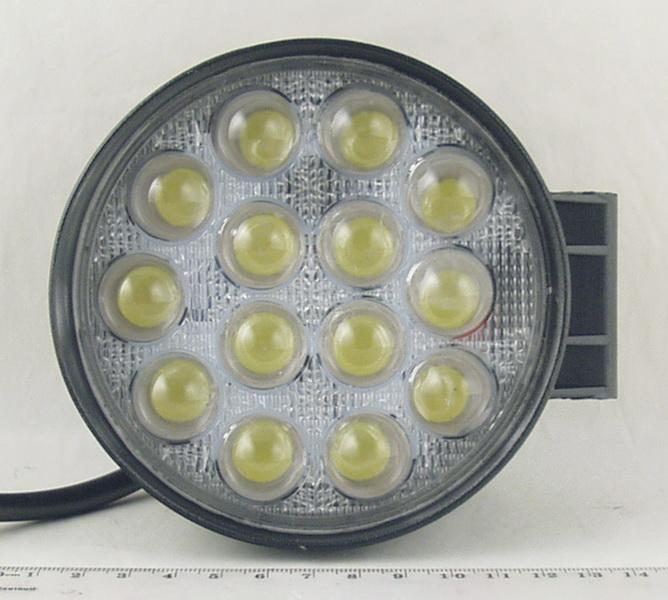 Фары светодиодные 14 ламп 42W кругл. DC-14 42CIR