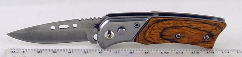 Нож 258 (A258) мал. выкид. дер. ручка