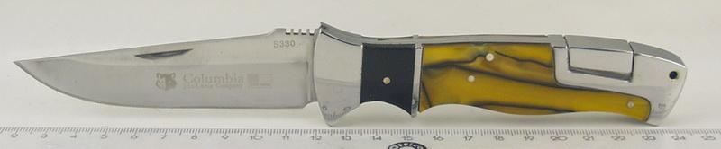 Нож 330 (S-330) раскл., перламутр. руч.