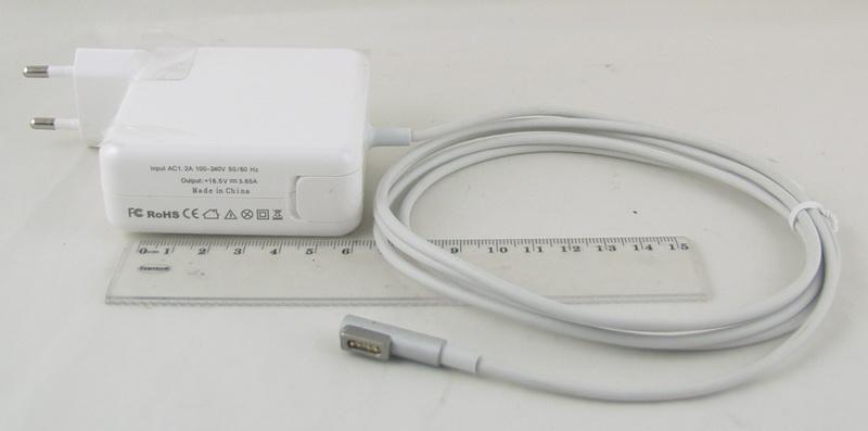 Блок питания для макбука (16,5V 3,65A 5 Pin) 60W SP-19L