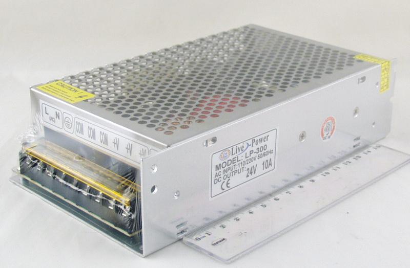 Блок питания для в/кам. (10A 24V) LP-300 240W