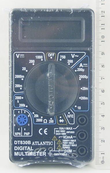 Цифровой Мультиметр DT-830 В (I сорт)