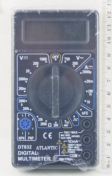 Цифровой Мультиметр DT-832 (I сорт)