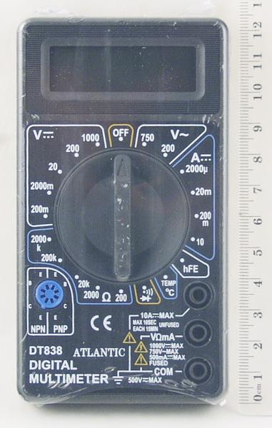 Цифровой Мультиметр DT-838 (I сорт)