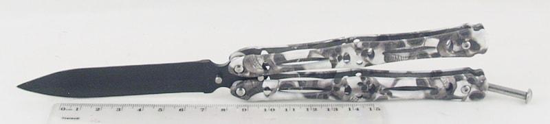 Нож 306 (ZH-306B) расклад., бабочка
