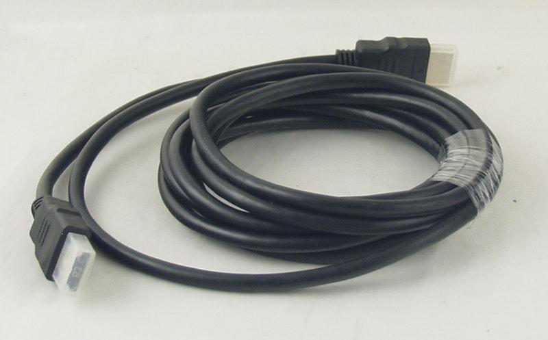 Шнур HDMI-HDMI 3м №85-3 резинов.