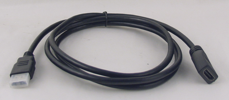Шнур HDMI-HDMI 1,5м №88 (гнездо-штекер)