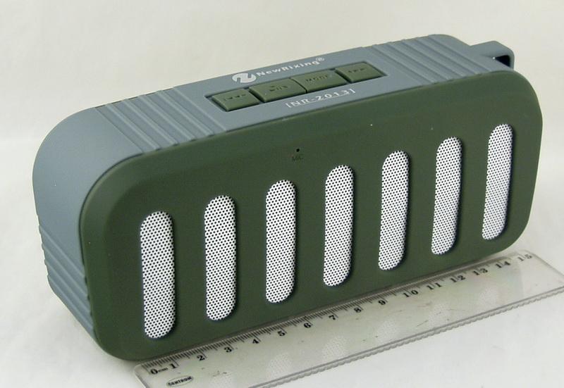 Колонки MP3 с FM-прием., USB, SD INR-2013 Bluetooth