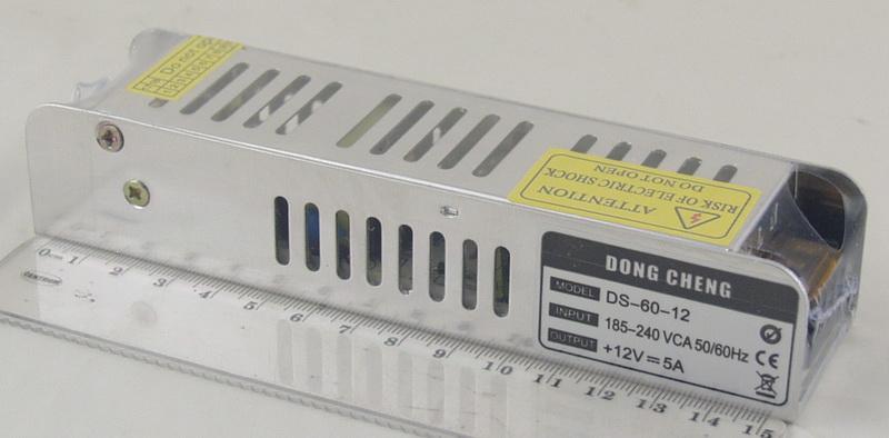 Блок питания для в/кам. (5A 12V) 5 выход. CDA-60W-F2