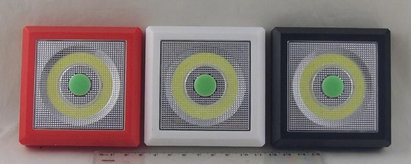 Фонарь светодиодный (1 больш. лампа, 3AAА) №8056 выключатель
