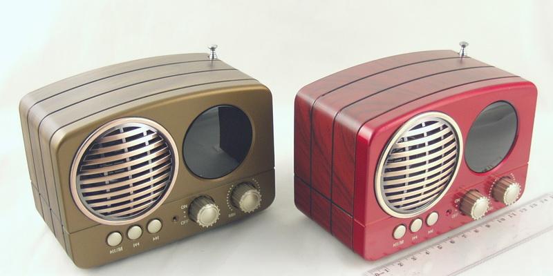 Радиоприёмник M-163BT (FM,,AM,SW) SD, USB сетев., встроен. аккум. Bluetooth