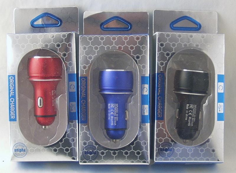 Блок питания для MP3 (2 USB,без шн.) 5V 3,6A прикур. C-72 с вольтметром