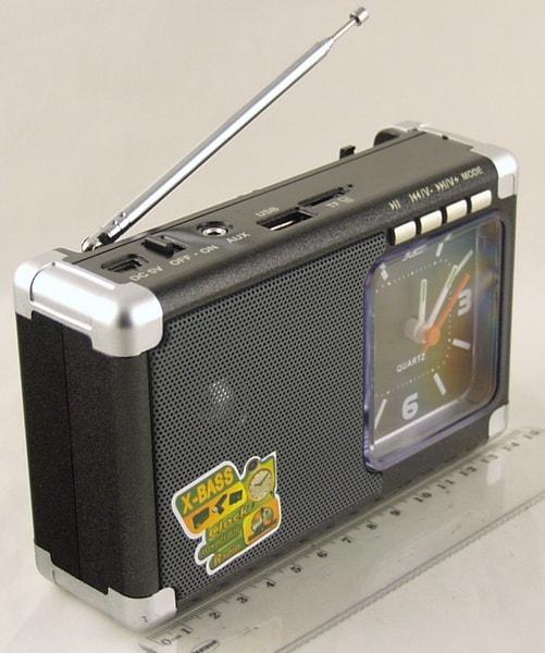 MD-200U FM SD, USB с часами