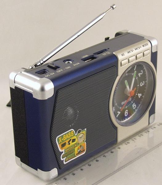 MD-201U FM SD, USB с часами