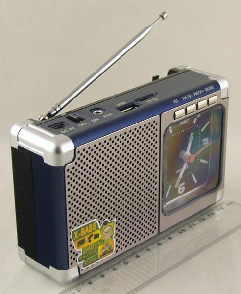 MD-202U FM SD, USB с часами