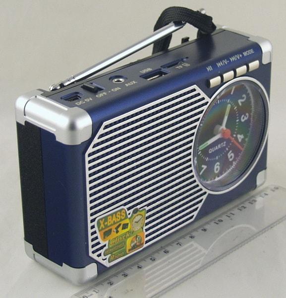 MD-203U FM SD, USB с часами