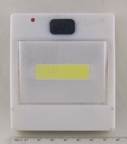 Фонарь светодиодный (1 больш. лампа, 3AAА) JX-5801 USB выключатель