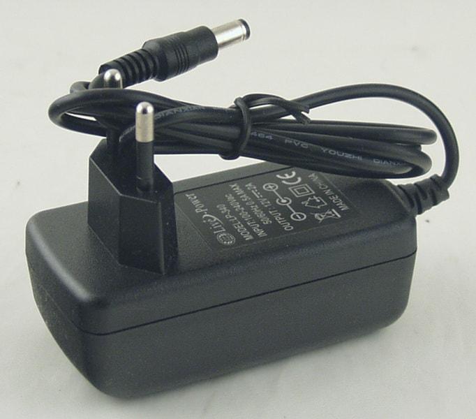 Блок питания для в/кам., DVD (2A=2A 12V) LP-340 толст. шт. (5,5*2,5)