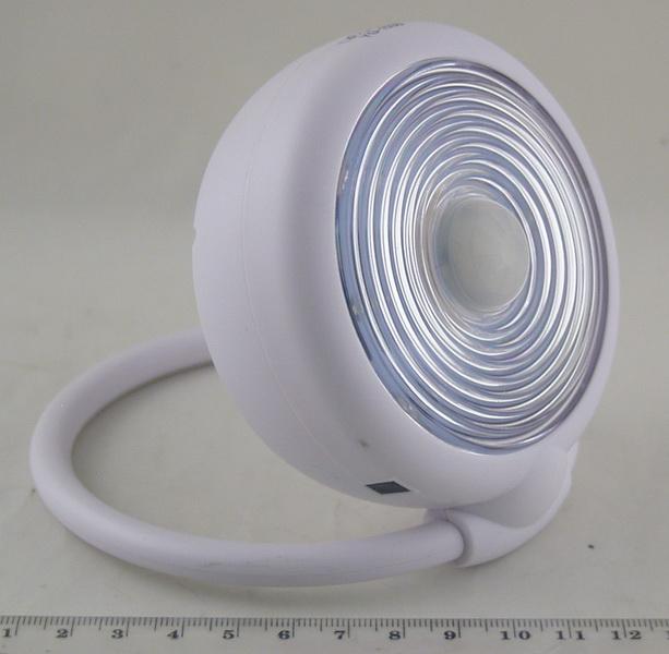 Фонарь светодиодный (6.ламп, 3AА) YG-1035 с датчиком движения