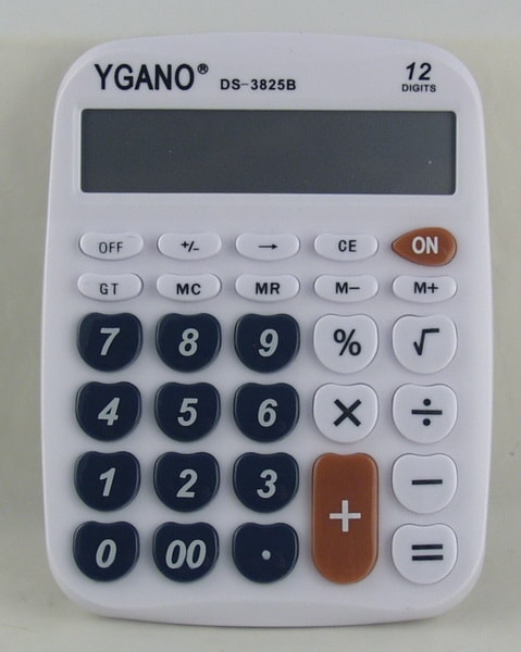 Калькулятор 3825 (DS-3825B) 12 разр. сред.