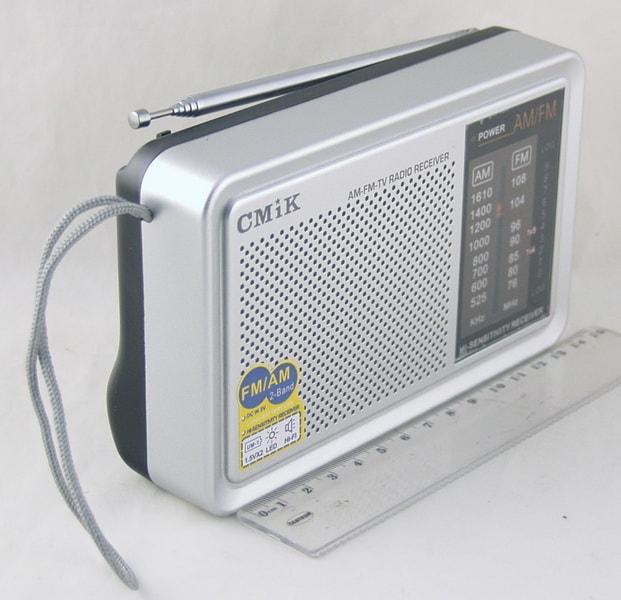Радиоприёмник MK-610 AM/FM (2R20)