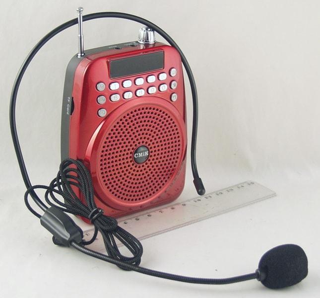 Радиоприёмник M-02 FM USB, SD громкоговоритель