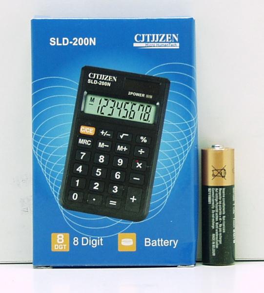 Калькулятор 200 (CT-200N) 8 разр. мал.