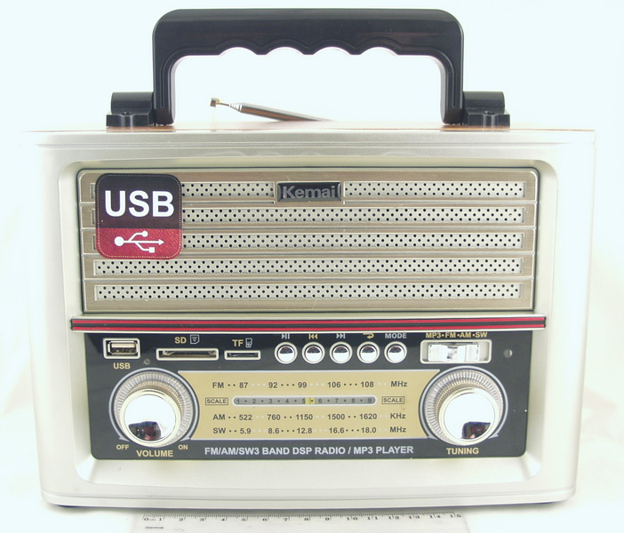 M-D1705BT 4 band (FM/AM/SW) USB, SD, пульт, ретро сетев./4R20