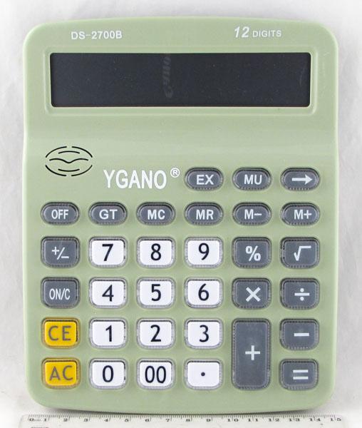 Калькулятор 2700 (DS-2700B) 12 разр. больш. экран